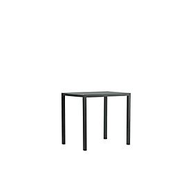 Tafel Newtown, B 800 x D 600 x H 750 mm, zwart