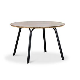 Tafel Symi, rond, Ø 1200 x H 765 mm, antraciet/betongrijs
