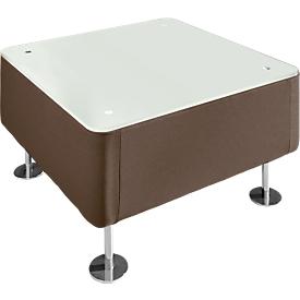 Tafel WALL IN, cappuccino