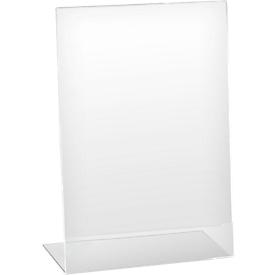 Tafelstandaard, acryl, schuin, voor A4