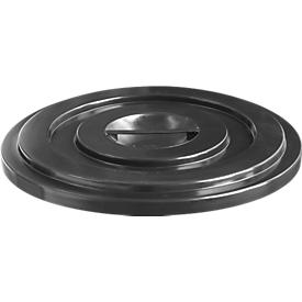 Tapa de HDPE, 35 litros, negra