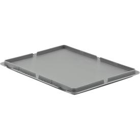 Tapa para caja con dimensiones norma europea MF 4120/4170/4220, gris