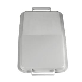 Tapa para cubo de basura 60 l, gris