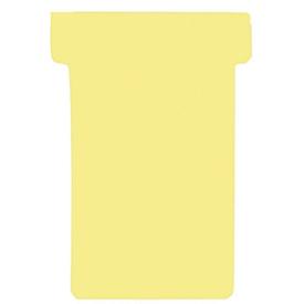 Tarjetas T FRANKEN, para panel de inserción, tamaño 1, amarillo