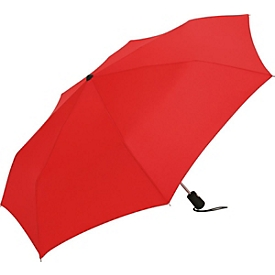 Taschenschirm, Rot, Standard, Auswahl Werbeanbringung optional