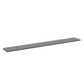 Tassenplanchet Tool, recht, B 1320 x D 200 mm, antraciet