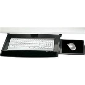 Tastaturschublade, verstellbar