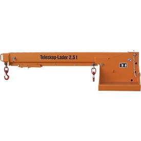 Telescooplader type KTH 2,5, 218 kg, oranje gelakt