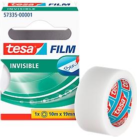 TESA Film, matt/unsichtbar, 10 m x 19 mm, 10 Rollen
