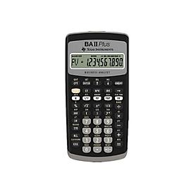 Texas Instruments BA II Plus - Finanz-Taschenrechner