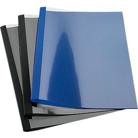 GBC® Thermobindemappe Business Line-Leder ibico, 1,5 mm, dunkelblau