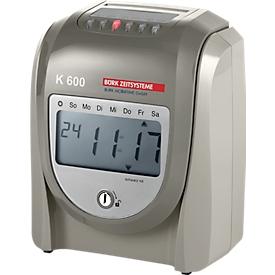 Tijdregistratieapparaat model K 600