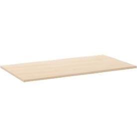 Tischplatte, 1200 x 800 mm, Ahorn