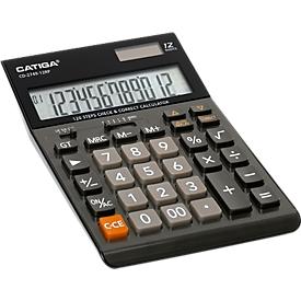 Tischrechner CD-2749-12RP, 12-stelliges LC-Display, kaufmännische Funktionen