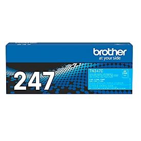 Toner Brother TN-247C, printcapaciteit ca. 2300 pagina's, cyaan