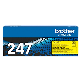 Toner Brother TN-247Y, printcapaciteit ca. 2300 pagina's, geel