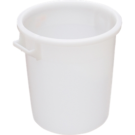 Tonne, aus HDPE, stapelbar 35 Liter, natur