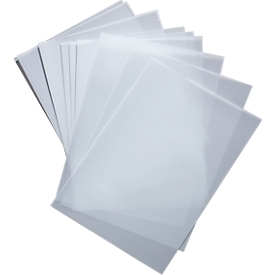 Transparente Beschriftungsfolie für Türschild Box, 10 Stück