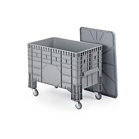 Transport- und Stapelgroßbehälter, fahrbar, 285 l