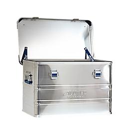Transportbox Alutec INDUSTRY 30, aluminium, 30 l, L 430 x B 355 x H 277 mm, met stapelhoeken, stevige deksel