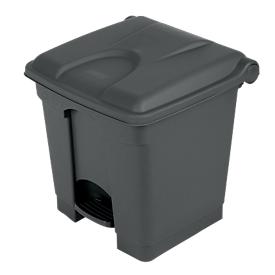 Tretabfallsammler aus Polyethylen 30 l, grau