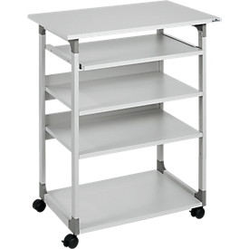Trolley para ordenador 75 VH, gris
