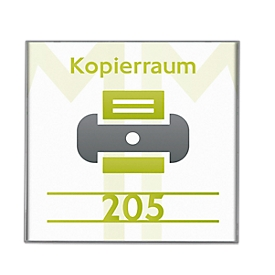 Türschild Miramar, H 149 x B 149 mm