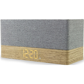 Uhrenradio Soundmaster UR620, Bluetooth & USB, UKW PLL, 2x3 W, Quaderform, grau