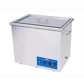 Ultrasoon reiniger EMAG Emmi® 420 HC, rvs, 42 l, met tijdschakelaar, afvoer & verwarming