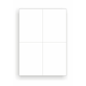 Universal-Etiketten, 105,0 x 148,0 mm = A6, Permanentkleber, 400 Stück
