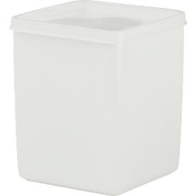 Universalbehälter mit Deckel, 1,0 L, L 103 x B 103 x H 127 mm