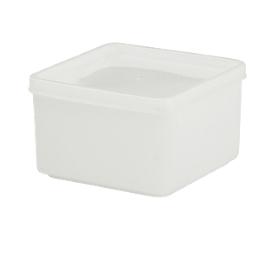 Universalbehälter mit Deckel, 500 ml, L 103 x B 103 x H 64 mm