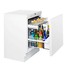 Unterbau-Flaschenkühlschrank KM 141 FL, für Flaschen bis 1,5 l, B 600 x T 600 x H 820-880 mm
