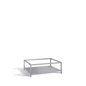 Untergestell für Planschrank für Formate bis DIN A0, mit Zwischenboden
