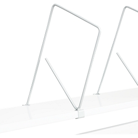 Unterteilbügel Serie TPB, für Etagenboard Serie TPB, Höhe 400 mm, 5 Stück