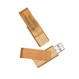 USB-Stick, Bambus, Standard, Auswahl Werbeanbringung optional