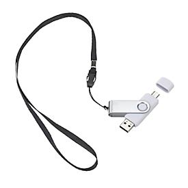 USB-Stick Twist Typ C, Weiß, Standard, Auswahl Werbeanbringung optional