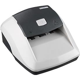 Valsgelddetector ratiotec® Soldi Smart EZB-standaard, EUR, werkt op netstroom of accu, wit