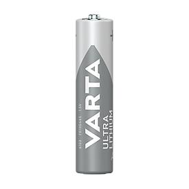 VARTA batterij PROFESSIONAL LITHIUM, Micro AAA, 1,5 V, 4 stuks