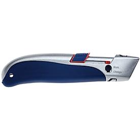 Veiligheidsmes met trapeziumvormig mes