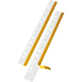 VELOFLEX hechtstrook, pvc, 292 mm, 50 st., glashelder