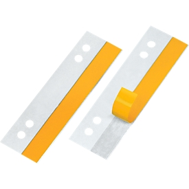 VELOFLEX Heftfix, PVC, 105 mm, 50 Stück, glasklar