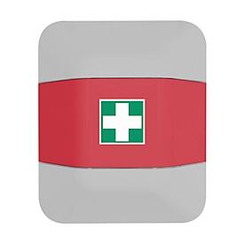 Verbandskasten-Aufsatz, f. Feuerlöscherschrank help, B 434 x T 225 x H 196mm, rot