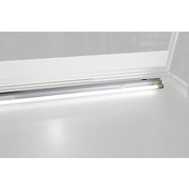 Verlichting voor informatiebord buitenafmetingen B 750 x D 70 mm, 8 W,