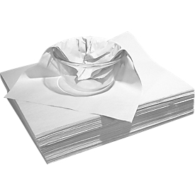Verpackung-Packseide weißgrau zum Schützen, Polstern, Einschlagen bei Versand & Umzug, 750 x 1000 mm