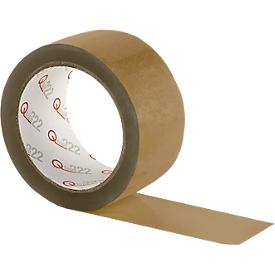 Verpakkingstape Qtape® 222, bruin, 6 rollen