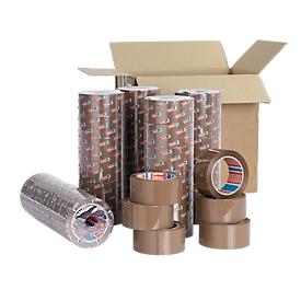 Verpakkingstape tesa®PP 4195, 50 mm x 66 m, bruin, 36 rollen