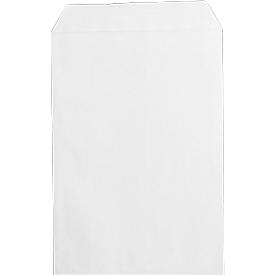 Versandtasche, B4, ohne Fenster, 250 Stück, weiß