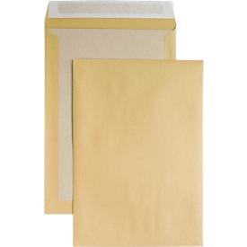 Versandtasche, B4, Papprückwand und Haftklebung, ohne Fenster, braun, 125 St.