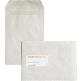 Versandtaschen, C5, 80 g/m², mit Fenster, selbstklebend, 500 Stück